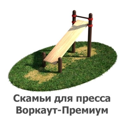 02-02-08-0001 Скамьи для пресса Воркаут-Премиум