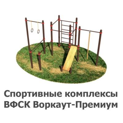 02-02-11-0002 Спортивные комплексы ВФСК Воркаут-Премиум