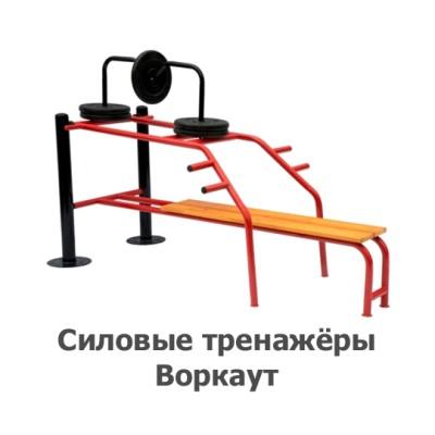 02-04-02-0002 Силовые тренажёры Воркаут