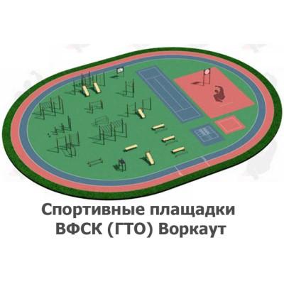 02-05-02-0004 Спортивные площадки ВФСК (ГТО) Воркаут
