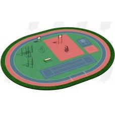 Арт.02-05-02-0001, Спортивная Площадка СП ВФСК-1, 76мм=155.800р, 89мм=168.600р, 108мм=181.700р.