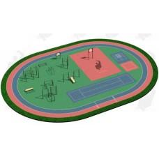 Арт.02-05-02-0002, Спортивная Площадка СП ВФСК-2, 76мм=307.550р, 89мм=337.800р, 108мм=372.000р.