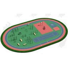 Арт.02-05-02-0003, Спортивная Площадка СП ВФСК-3, 76мм=480.350р, 89мм=525.550р, 108мм=580.950р.