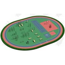Арт.02-05-02-0004, Спортивная Площадка СП ВФСК-4, 76мм=645.550р, 89мм=706.650р, 108мм=779.400р.