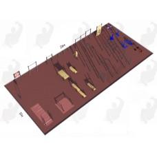 Арт.02-05-02-0006, Спортивная Площадка СП ВФСК-6, 76мм=708.900р, 89мм=777.200р, 108мм=816.650р.